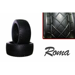 Hot Race Tyres Roma Soft Komplettrad (x2)
