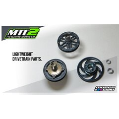 Mugen MTC2 1/10 Electric Touring Car Kit w/Aluminium chassis (Vorbestellung)